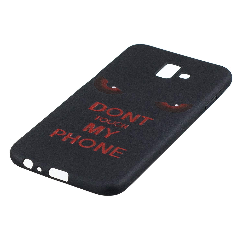 Everainy Coque Compatible pour Samsung Galaxy J6+//J6 Plus 2018 Silicone Housse /Étui avec Motif Dr/ôle Souple Bumper Ultra Mince Fine Cover Galaxy J6 2018 Etui Antichoc Caoutchouc Ananas color/é