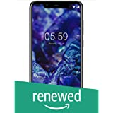 Renewed  Nokia 5.1 Plus TA 1102 DS  Black, 3 GB RAM, 32 GB Storage