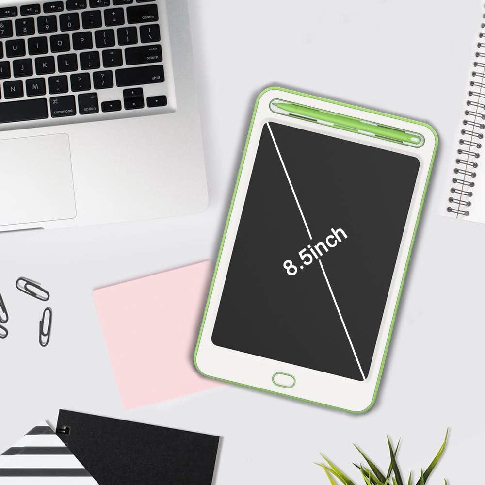 LCD Writing Tablet Kinder Schreibplatte Digital Schreibtafel Grafiktablet Tabletten Geschenke Spielzeug f/ür Zeichnen//Schreiben Schwarz-B Richgv 8.5 Zoll LCD Schreibtafel