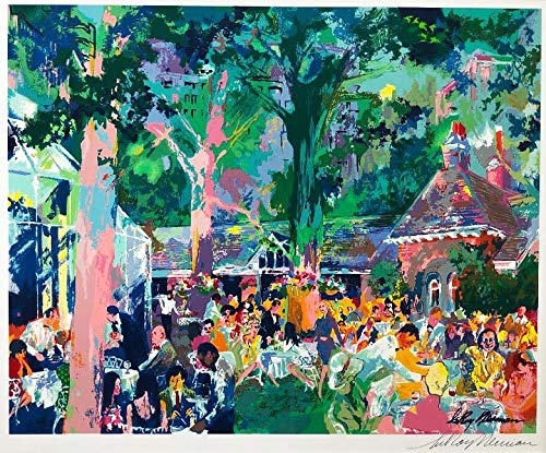 Hand Signed Green - LEROY NEIMAN Tavern ON The Green Hand Signed Lithograph