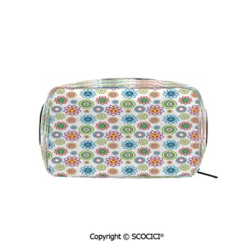 New Women Check Patterned Clutch Bag Ladies Wristlet Designer Inspired Pouch