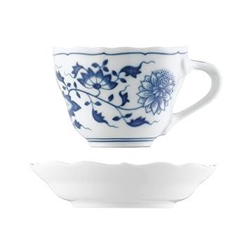 Hutschenreuther Blau Zwiebelmuster Espresso-//Mokka-Untertasse 11,5 cm