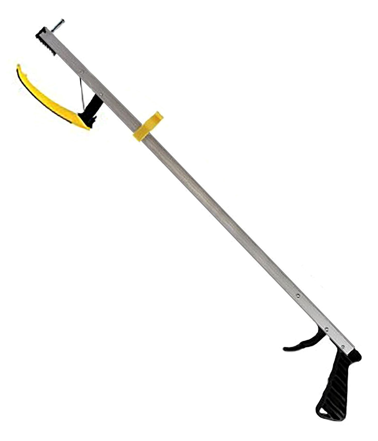 RMS 32 Inches Long Grabber Reacher - Magnetic Tip Helps Pick Up Small Objects - Fitted with Post to Assist with Dressing - Mobility Aid Reaching Assist Tool, Arm Extension (32 Inch) by RMS Royal Medical Solutions, Inc.