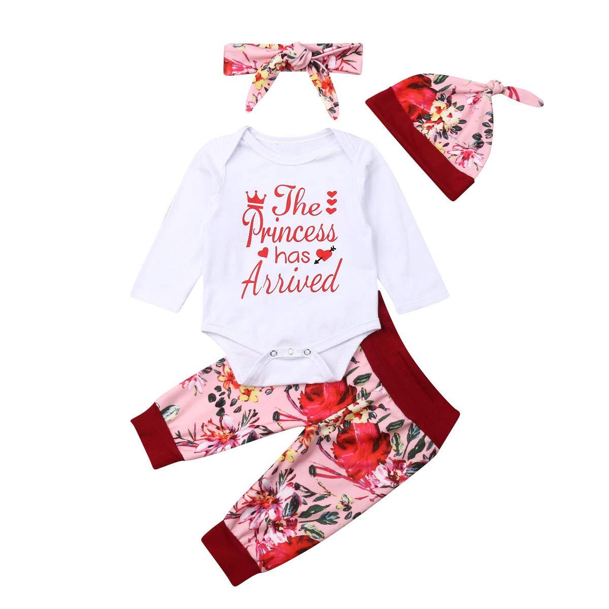 Conjunto de 4 Piezas de Pantalones para bebé recién Nacido, con ...