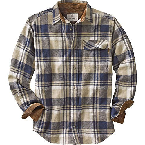 Legendary Whitetails Buck Camp Flannels Shale Plaid XX-Large Tall