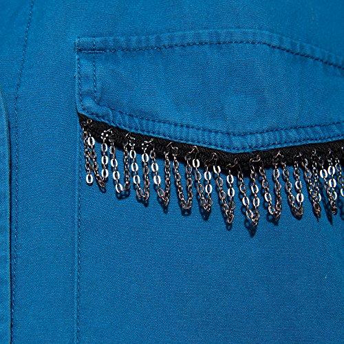 Parfois Donne Perline Le Giacca Blu rtrUgz