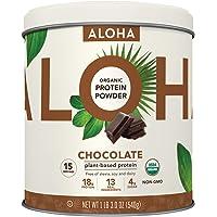Plant-Based Protein Powder   Organic Chocolate Keto Friendly Vegan Protein with MCT Oil, 19 oz, Makes 15 Shakes, Vegan…