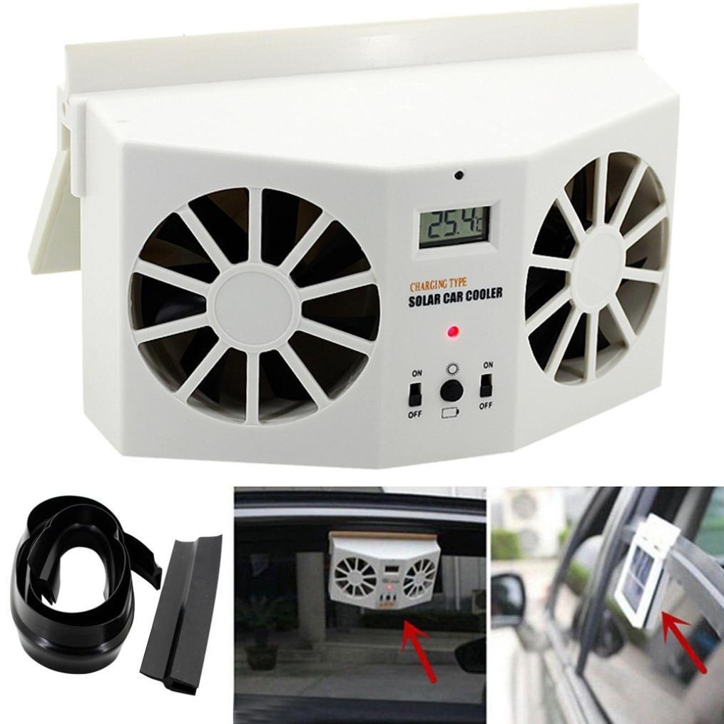 Auto Ventilatori Sansee Ad Energia Solare Auto Finestra D Aria Ventilatore Mini Aria Condizionata Ventilatore Freddo New FEMSALBJBJ147