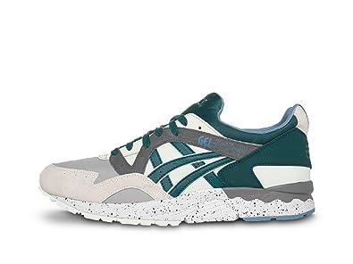 8d7a56fdf4 usa asics gel lyte v 5 cream deep teal mens shoes d9d21 0d44f