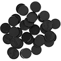 Evemodel MB325 40pcs Round Plastic Model Bases 25mm or 0.98inch for Gaming Miniatures or Wargames Table Games