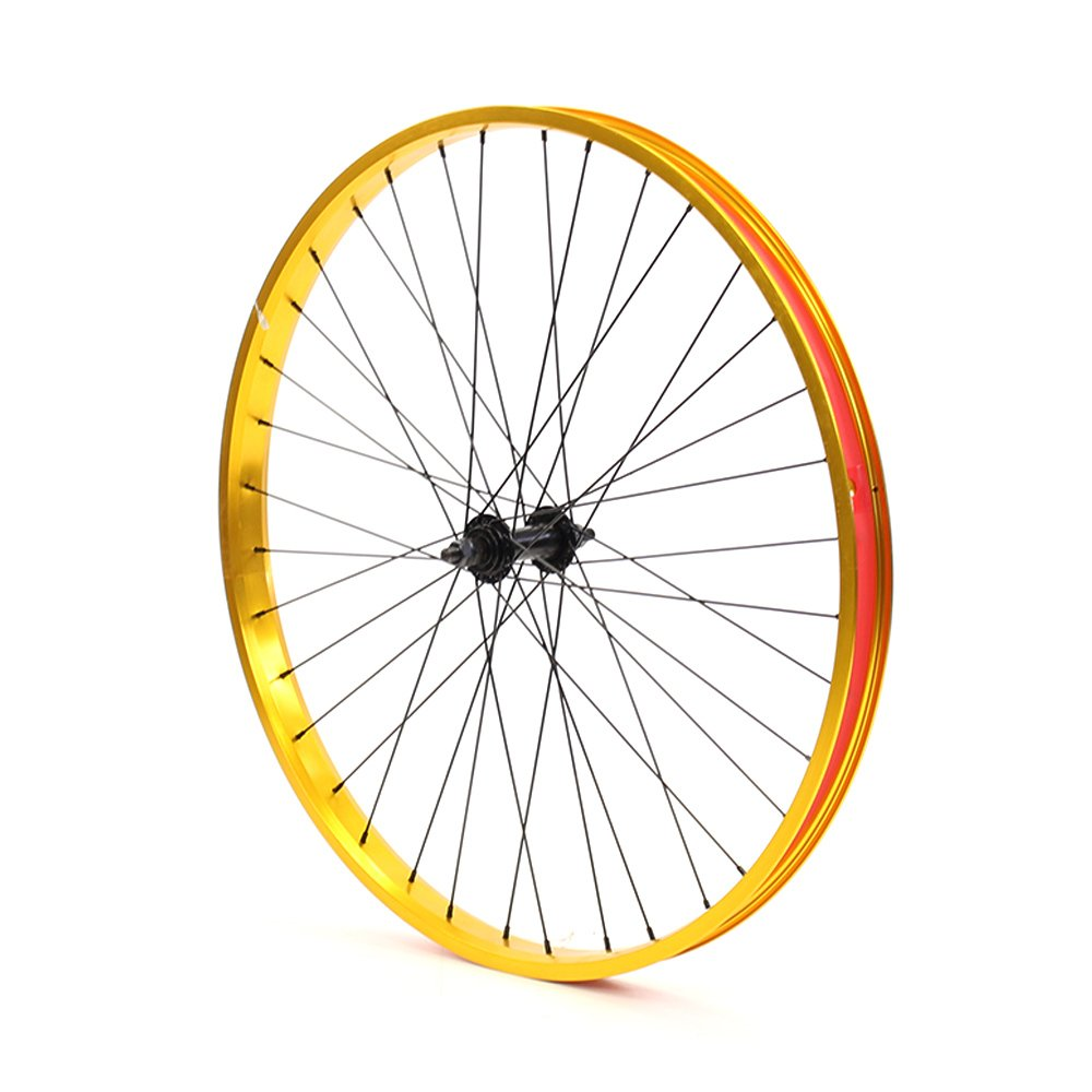Set of Bicycle Rims (26x32mm; Front & Rear; Anodized Gold) by ZycleFix (Image #3)