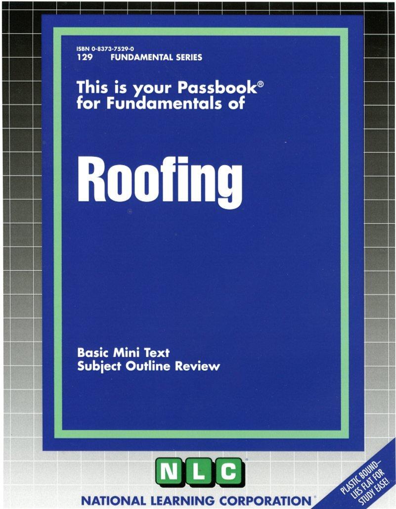 Roofing (Fundamental Series) (Passbooks) (Fundamental Passbooks)