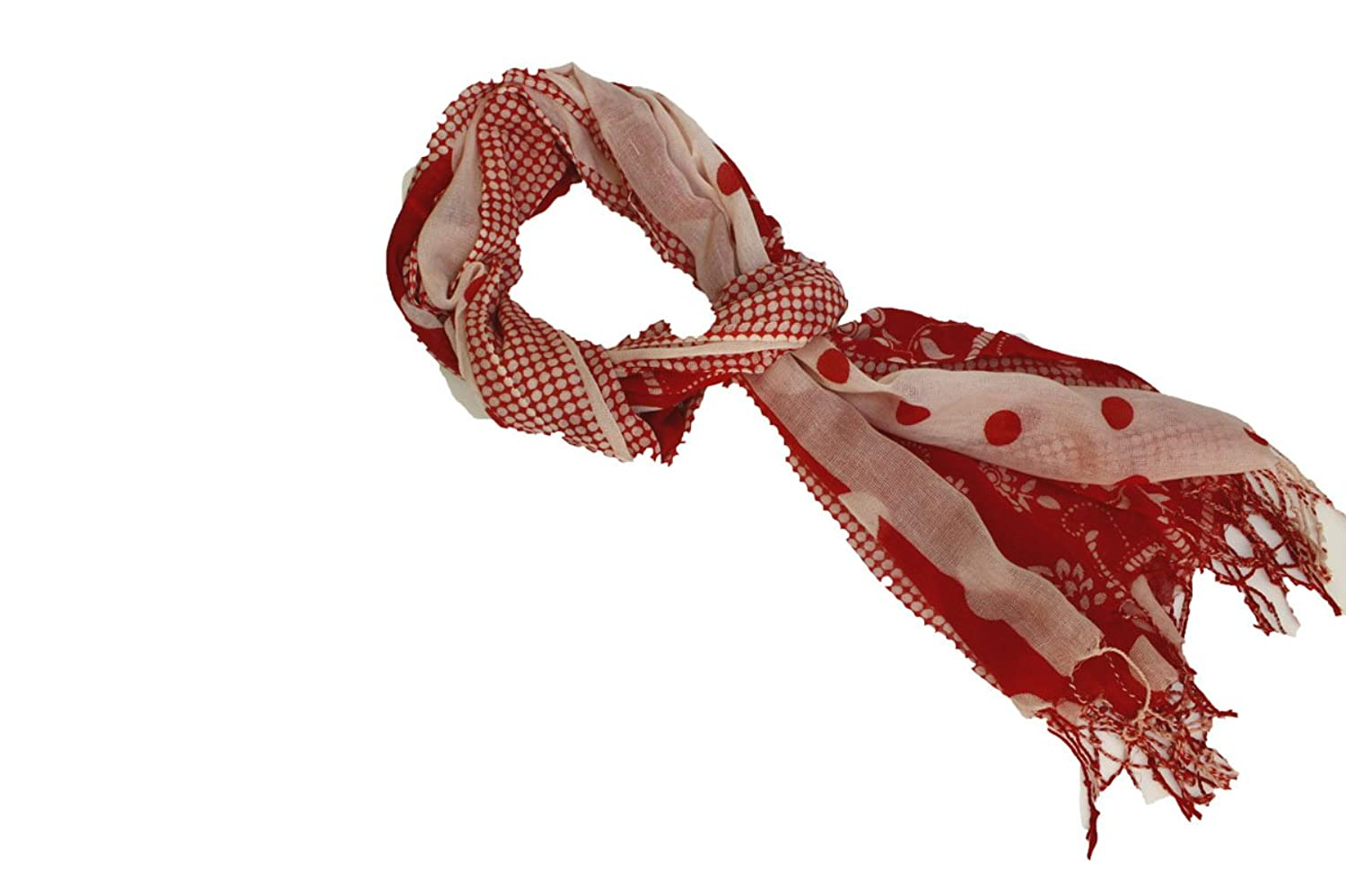 Picnic Red Fashion Scarve for Women