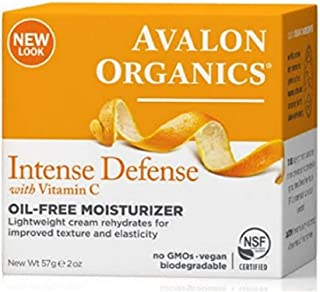 product image for Avalon Organics Intense Defense with Vitamin C Oil-Free Moisturizer 2 oz ( Pack of 5)