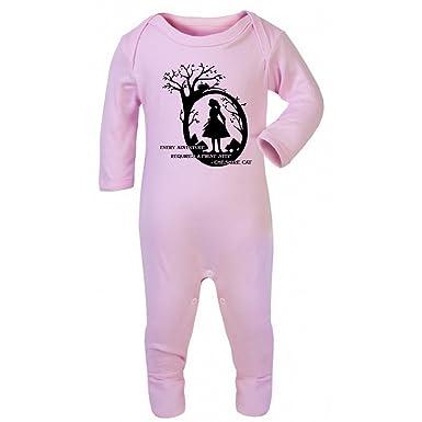 Alice In Wonderland Baby Grow Vest Adventure First Step Cute