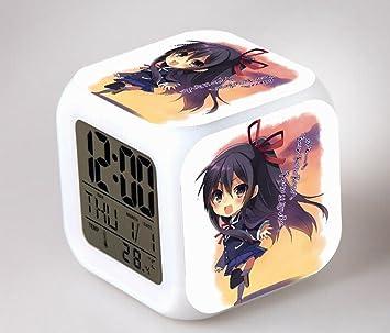 coolnn de anime Despertador dibujos animados creativa colorido reloj despertador para niños Despertador Digital despertador analógico despertador luz ...