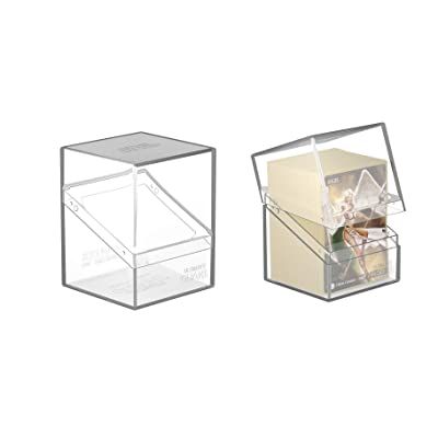 Ultimate Guard Clear Boulder 100+ Heavy-Duty Deck Box Case Protector: Toys & Games