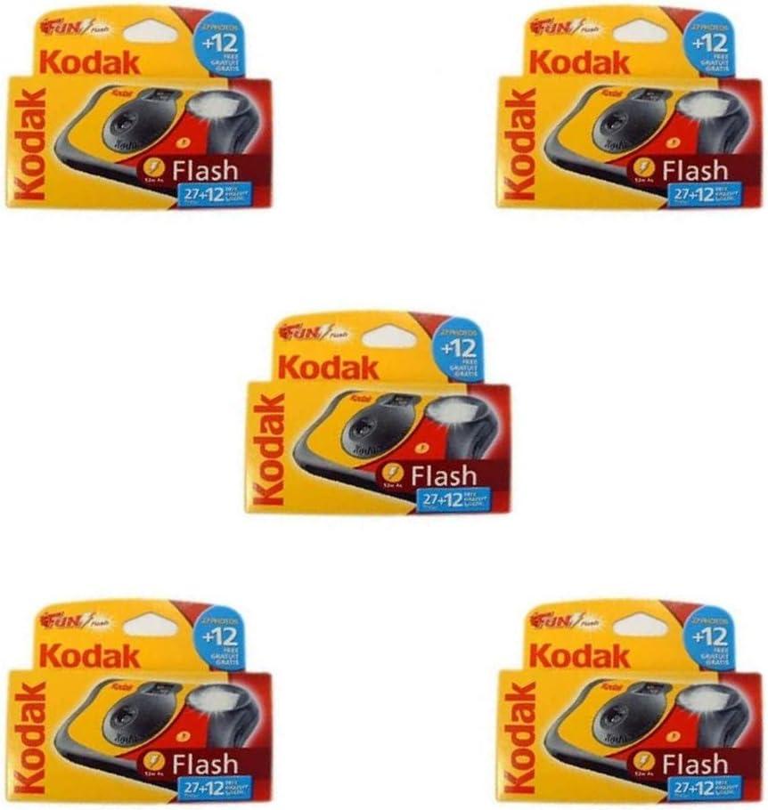 Kodak Fun Flash Einwegkamera 5 Stück Kamera