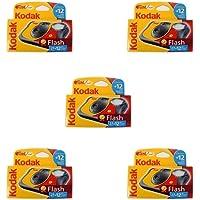 Kodak Fun Flash wegwerpcamera (voor 39 opnames), 5 stuks