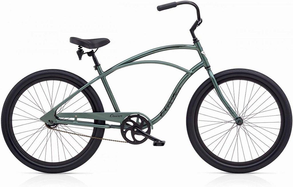 【 CRUISER LUX 1 MENS ELECTRA CYCLE@51840 】 クルーザー LUX 1 エレクトラ バイク メンズ自転車 サイクル B07544NQDJANTHRACITE
