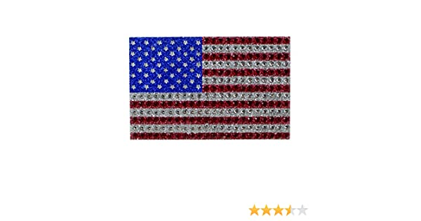 American Flag Bling AUTO EMBLEM car truck Team USA
