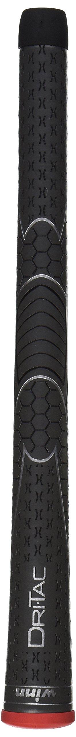 Winn DriTac Standard Midsize Grip (+1/16), Dark Gray