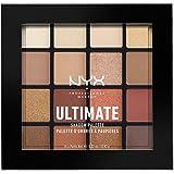 NYX PROFESSIONAL MAKEUP 专业彩妆 Ultimate眼影盘 16个温暖中性色 0.83g