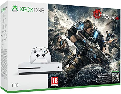 Xbox One S - Consola 1 TB + Gears Of War 4: Amazon.es: Videojuegos