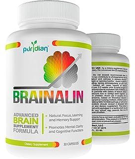 Amazon.com: Brain Factor Vitaminas para el cerebro, mejoran la ...
