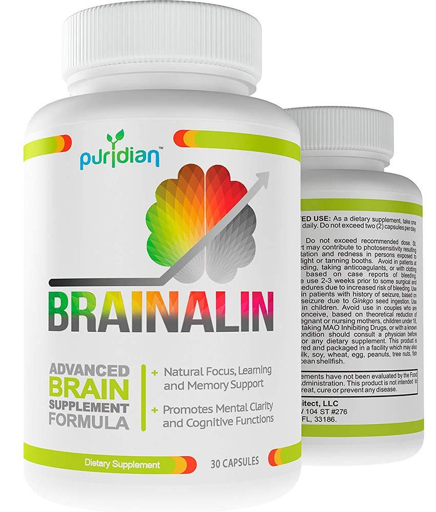 Vitaminas Para El Cerebro Memoria Y Concentracion - Suplemento Natural - Mejore Su Memoria Y Concentracion O El Producto Es Gratis - Fórmula Avanzada ...