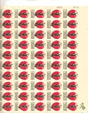 Johnny Appleseed Full Sheet of 50 X 5 Cent Us Postage Stamps Scot #1317