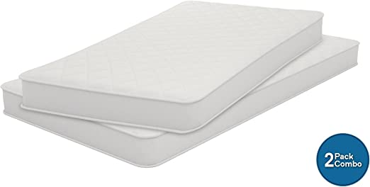 Best Innerspring Mattress Twin Full Size Comfort Bunk Bed 6 Inch Heavy Duty Coil