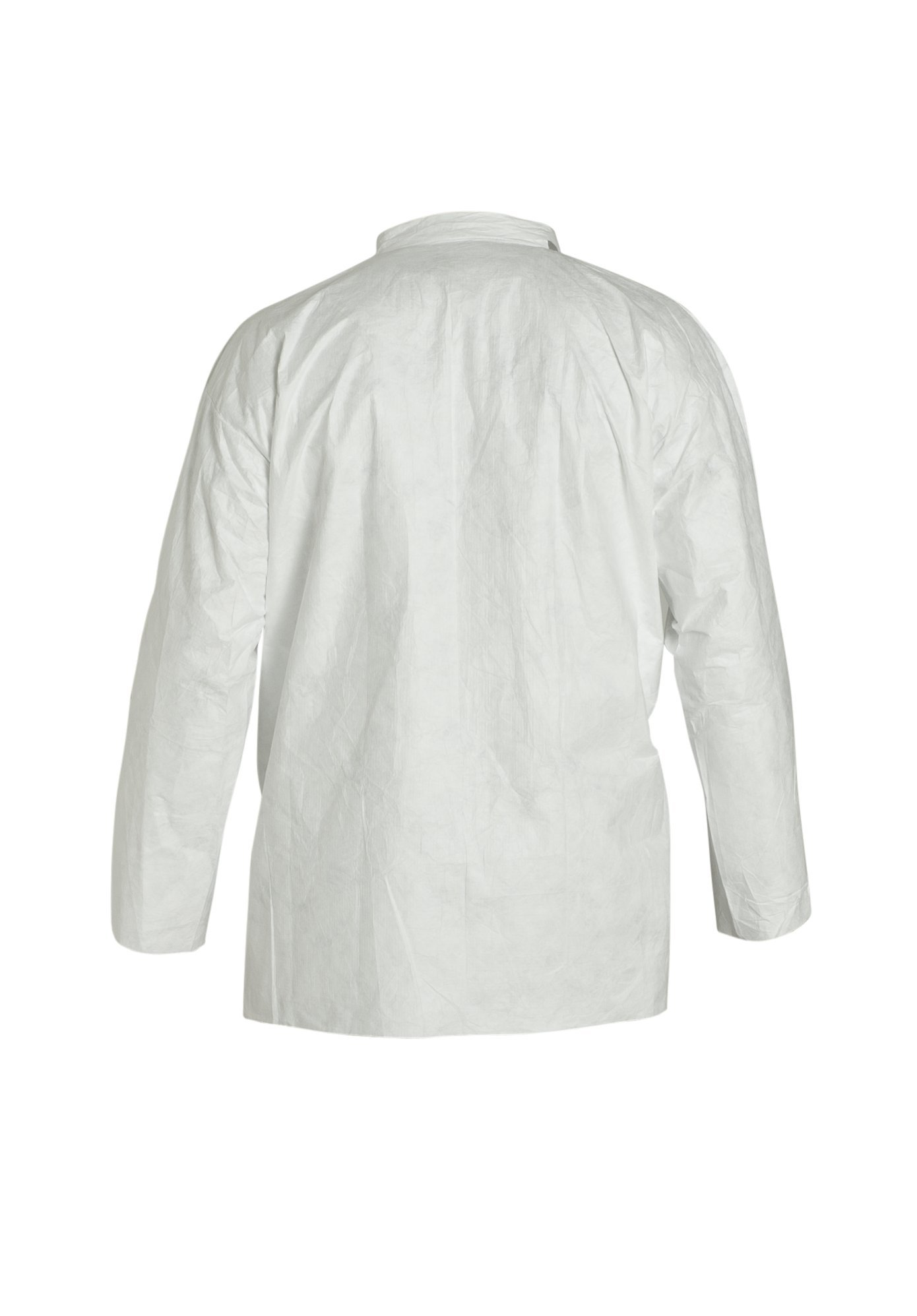 DuPont Tyvek 400 TY303S Disposable Shirt with Open Cuff, White, 2X-Large (Pack of 50) by DuPont (Image #3)