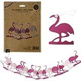 Flamingo Party Girlande Happy Birthday Deko Geburtstag