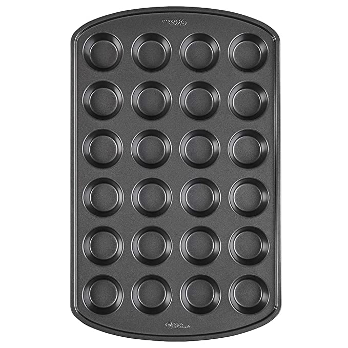 Wilton Perfect Results Premium Non-Stick Mini Muffin and Cupcake Pan, 24-Cup best muffin pans