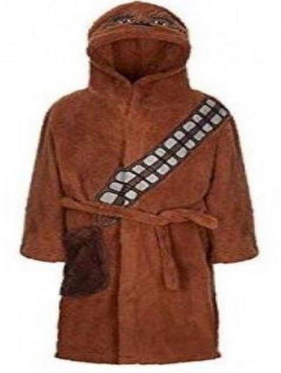 Star Wars Vestido Oficial de Chewbacca Bata Albornoz Albornoz para niños