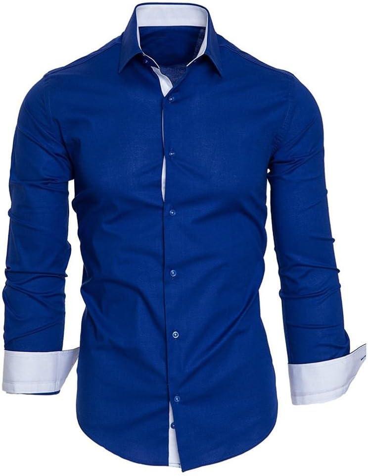 Camisas hombre Auto-cultivo de los hombres costura mangas ...