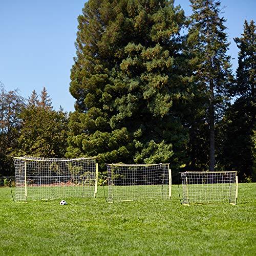 a8e3fa592 AmazonBasics Portable Easy-Up Soccer Goal, 12' x 6' - Buy Online ...