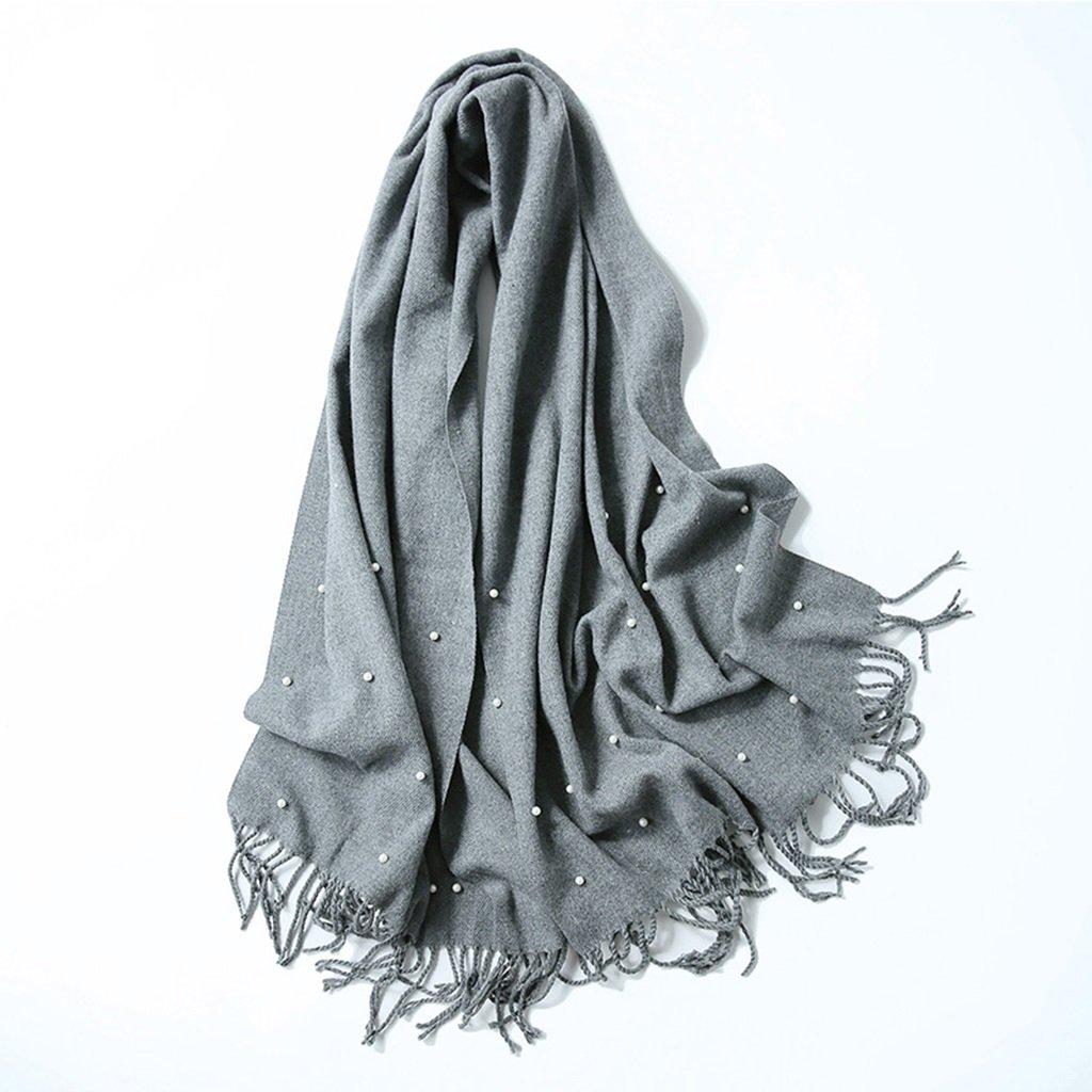 Bufanda moda suave ligera femenina larga primavera e invierno chal uso doble engrosamiento 175 cm de...