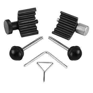 Kit de herramientas de temporización de motor diésel, 6 piezas, juego de herramientas de bloqueo de manivela para VW Audi 1.2 1.4 1.9 2.0 TDI PD: Amazon.es: ...