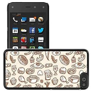 Print Motif Coque de protection Case Cover // V00002465 Vector sin alimentos // Amazon Fire Phone