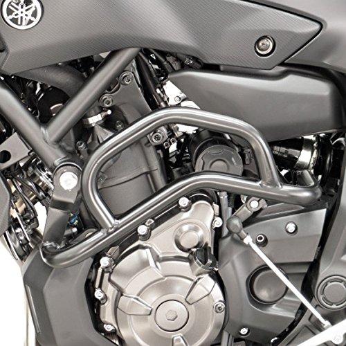 Sturzbü gel Fehling Yamaha MT-07 14-18 schwarz unten