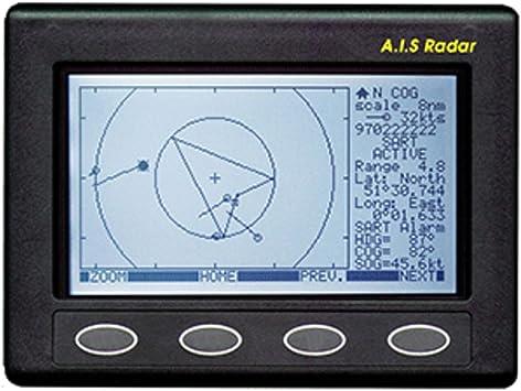 Clipper AIS Plotter/Radar - Requiere entrada GPS y antena VHF: Amazon.es: Deportes y aire libre