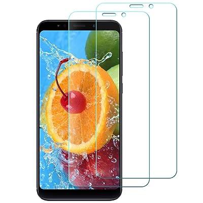 [2-Unidades] Protector de Pantalla Xiaomi Redmi 5 Plus, Fincue Cristal Templado Xiaomi Redmi 5 Plus, Alta Definicion, 9H Dureza, Resistente a Arañazos, Sin Burbujas