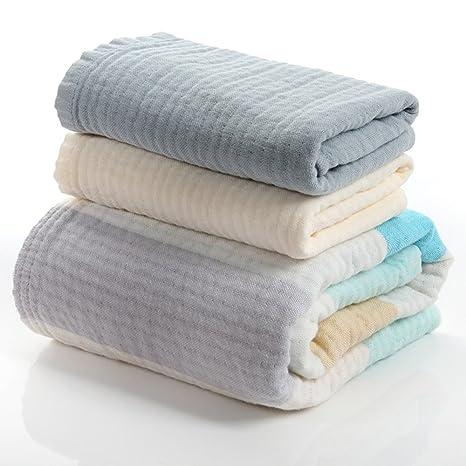 Toalla de baño suave Algodón 1 toalla de baño + 2 conjunto de toallas 3 juegos