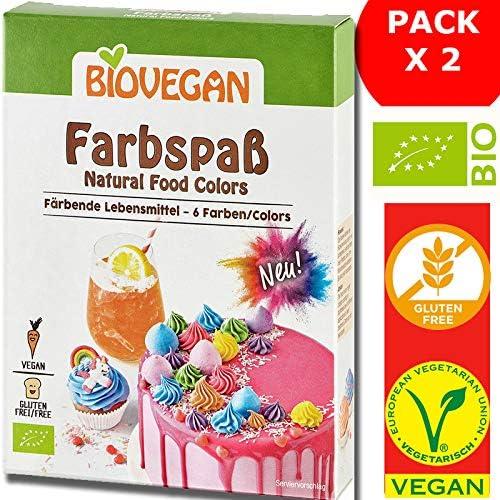 Colorante Alimenticio Polvo Orgánico Natural Lote De 2 x 6 ...