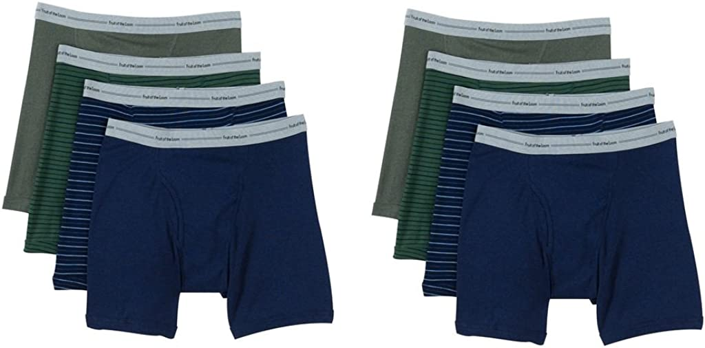 Fruit of the Loom Mens Boxer Brief 7 Pack