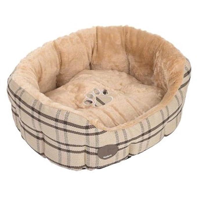 Zooplus Snuggle Cama para Gatos Perros Ovalado Reversible ...