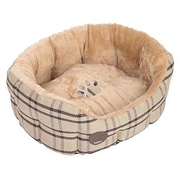 Zooplus Snuggle Cama para Gatos Perros Ovalado Reversible cojín: Amazon.es: Productos para mascotas