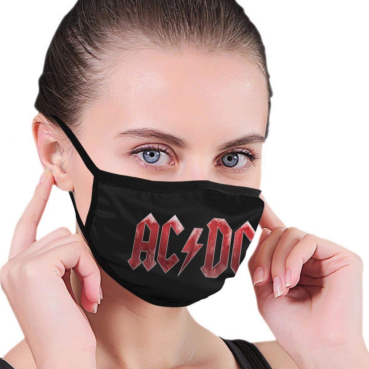HAIRUSU AC-DC Maschere antipolvere alla moda unisex Modello elegante Maschera per uomini Donne Attività all'aperto